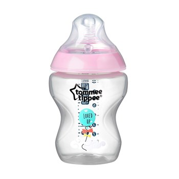 Picture of TOMMEE TIPPEE Closer To Nature μπιμπερό 260ml - μικρή ροη ροζ