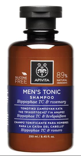 Picture of APIVITA   Τονωτικό Σαμπουάν για Άνδρες με Ιπποφαές - Hippophae TC & Δεντρολίβανο 250ml
