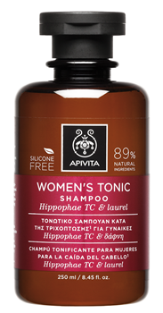 Picture of APIVITA   Τονωτικό Σαμπουάν Κατά της Τριχόπτωσης για Γυναίκες με Ιπποφαές - Hippophae TC & Δάφνη 250ml
