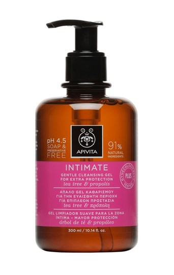 Picture of APIVITA  Intimate Special Gentle Cleansing Gel με Tea Tree & Πρόπολη 300ml