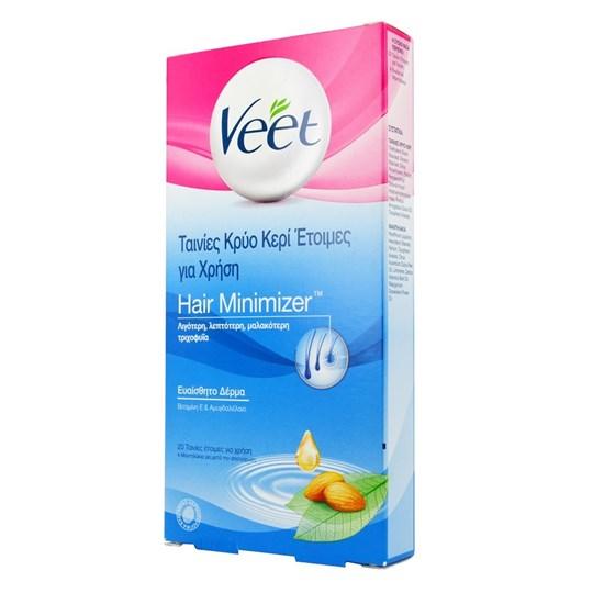 Picture of Veet Ταινίες Κρύο Κερί Έτοιμες για Χρήση για Πόδια & Σώμα Ευαίσθητο Δέρμα 20strips