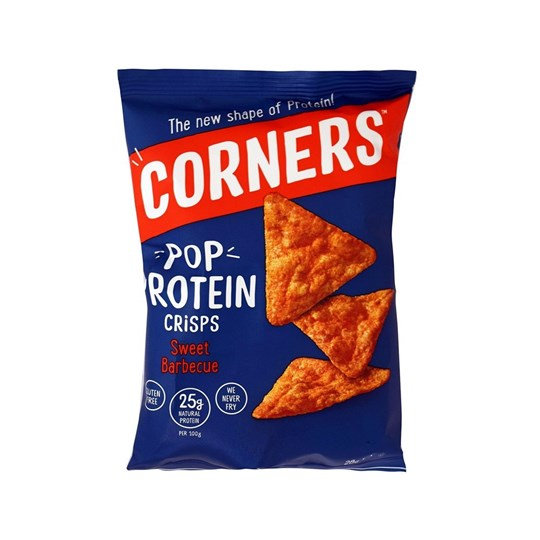Picture of FIT SPO CORNERS SWEET BBQ CORNERS POP PROTEIN 28gr