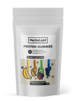 Picture of HERBALAND Vegan Protein Gummies 600gr
