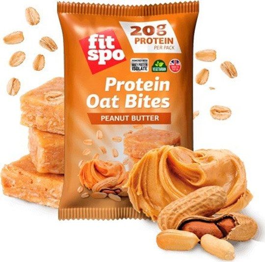 Picture of FIT SPO Protein Oat Bites Peanut Butter 20gr