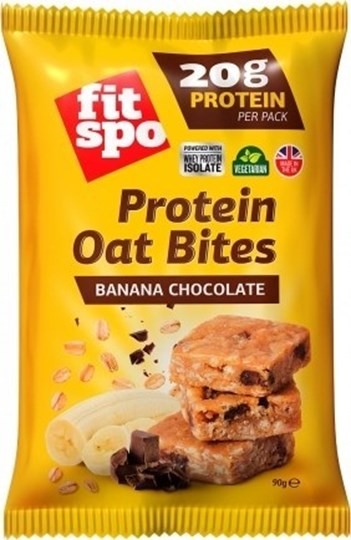 Picture of FIT SPO Protein Oat Bites Banana Chocolate 20gr