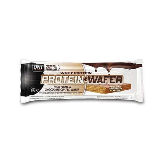 Picture of QNT 32% Protein Wafer Bar Belgian Chocolate 35gr