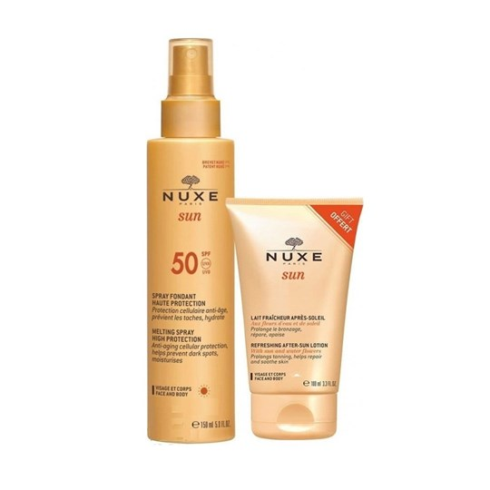 Picture of NUXE SUN MILKY SPRAY SPF50 -20% 150ml + AFTER SUN 100ml