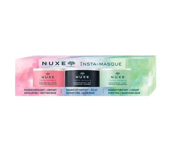 Picture of NUXE Tριπλέτα Face Masks  (Detoxifying - Exfoliating - Purifying) ΝΕΟ