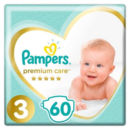 Picture of Pampers Premium Care Πάνες Μέγεθος 3 Midi 6-10 Kg 60 Πάνες