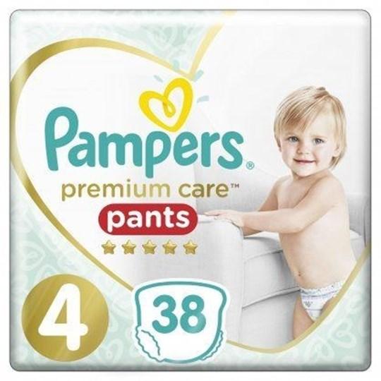 Picture of Pampers Premium Care Pants Μέγεθος 4 9-15Kg 38 Πάνες-Βρακάκι