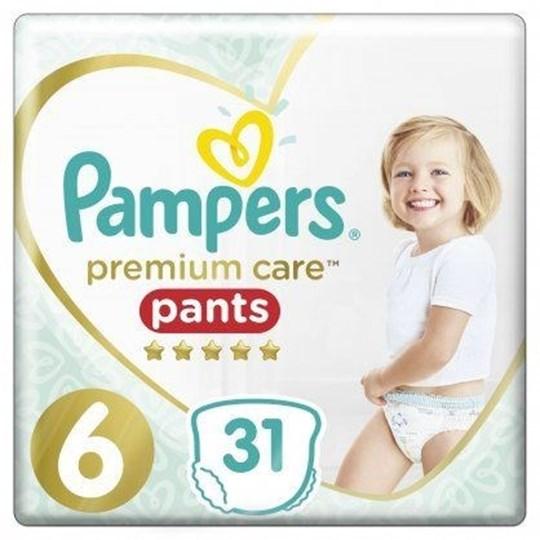 Picture of Pampers Premium Care Pants Μέγεθος 6 15+Kg 31 Πάνες-Βρακάκι