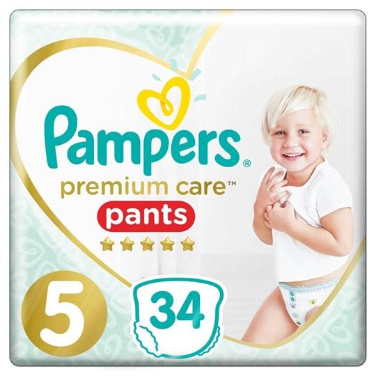 Picture of Pampers Premium Care Πάνες Μέγεθος No.5 (12-17kg) 34 Πάνες