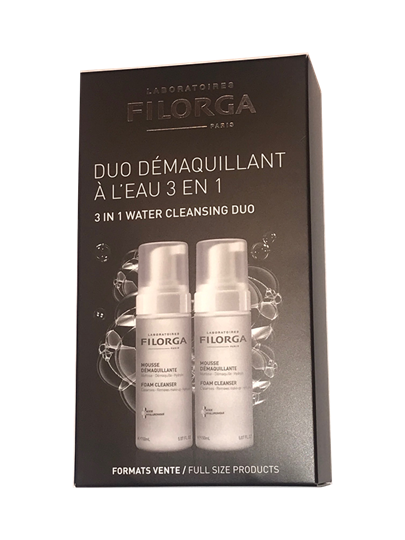 Picture of FILORGA Duo Mousse Démaquillante Απαλός Αφρός Καθαρισμού 2 x 150ml