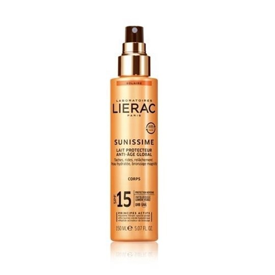 Picture of LIERAC SUNISSIME Lait Protecteur Energisant Anti-Age Global SPF15 150ml