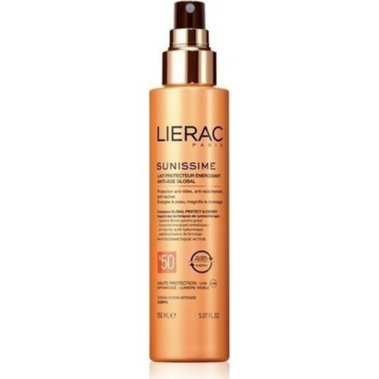 Picture of LIERAC Sunissime Energizing Protective Milk Global Anti-Aging 150ml spf 50