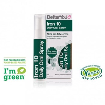 Picture of BetterYou Iron Daily Oral Spray 10mg 25ml