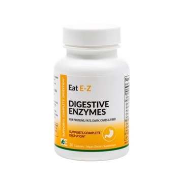 Picture of DYNAMIC ENZYMES Eat E-Z 30 caps