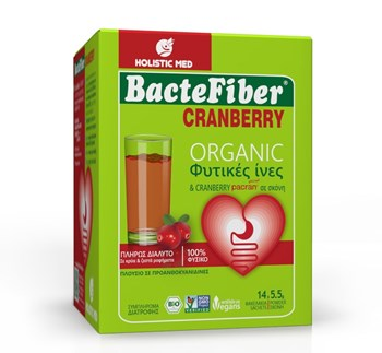 Picture of Bactefiber Cranberry 14 φακελακια HOLISTIC MED