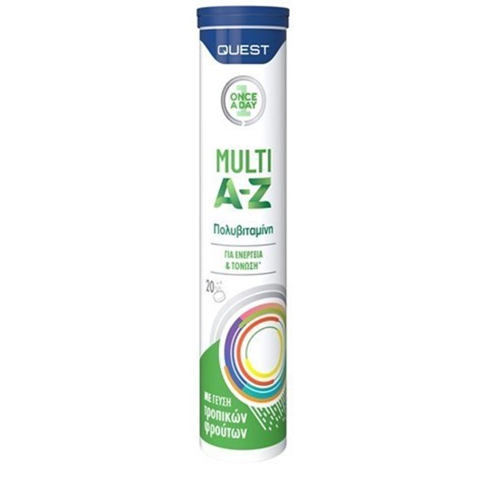 Picture of QUEST Once A Day Vitamin Multi A-Z αναβράζουσες ταμπλέτες