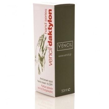 Picture of Vencil Daktylon Anti-Brown Spot Hand Cream SPF15 (Κρέμα χεριών για τις Δυσχρωμίες) 50ml