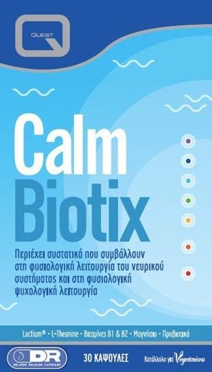 Picture of QUEST Calm Biotix 30 Caps