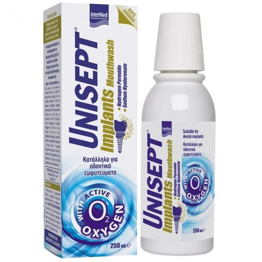 Picture of INTERMED UNISEPT Implants Mouthwash 250 ml