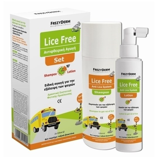 Picture of FREZYDERM LICE FREE SET (SHAMPOO + LOTION 2x125ml)