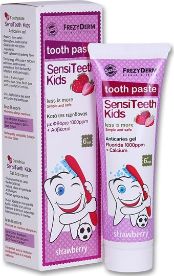 Picture of FREZYDERM SENSITEETH KIDS TOOTH PASTE1000ppm 50 ml