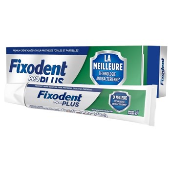 Picture of Fixodent Pro Plus Best Antibacterial Technology με Γεύση Μέντας 40gr