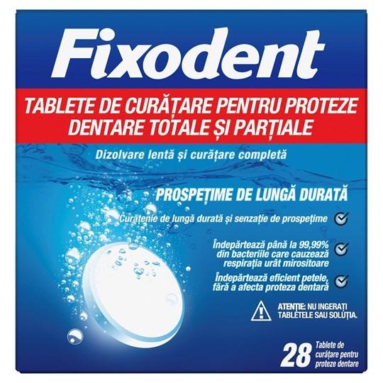 Picture of Fixodent Ταμπλέτες Καθαρισμού για Ολικές & Μερικές Τεχνητές Οδοντοστοιχίες 28tabs