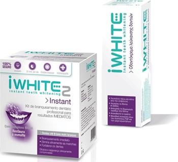 Picture of iWhite Instant 2 Επαγγελματικό Σύστημα Λεύκανσης Δοντιών, 10 Μασελάκια + iWhite οδοντόκρεμα λεύκανσης δοντιών 75ml