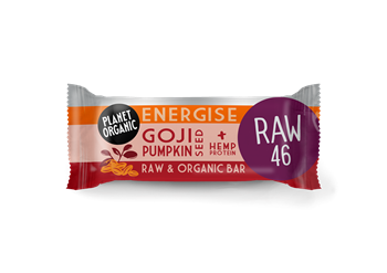 Picture of PLANET ORGANIC Goji Pumpkinseed Energise Bar 30gr
