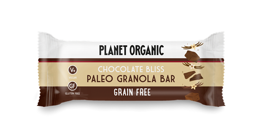 Picture of PLANET ORGANIC Paleo Granola Bar Chocolate Bliss 30gr