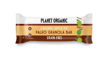 Picture of PLANET ORGANIC Paleo Granola Bar Caramel Apple Pie 30gr