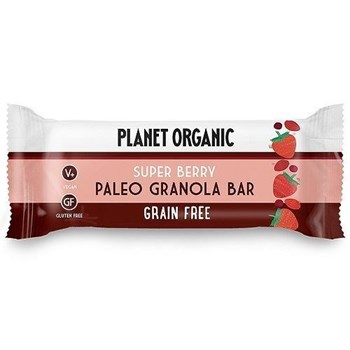 Picture of PLANET ORGANIC Paleo Granola Bar Super Berry 30gr