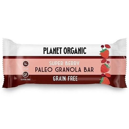 Picture of PLANET ORGANIC Paleo Granola Bar Super Berry 30gr