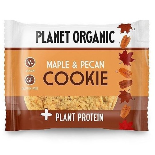 Picture of PLANET ORGANIC Maple and Pecan Cookie 50gr Protein Cookie