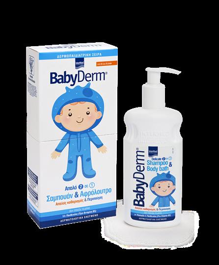 Picture of INTERMED BABYDERM Shampoo & Body Bath 300ml ΝΕΟ