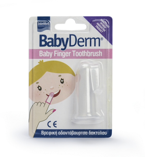 Picture of INTERMED Babyderm Baby Finger Toothbrush