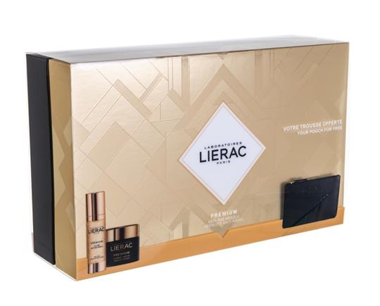 Picture of LIERAC Set Premium La Cure Anti-Age Absolu Αγωγή Απόλυτης Αντιγήρανσης 30ml & Premium Soyeuse Cream 50ml & Δώρο Δερμάτινο Πορτοφόλι