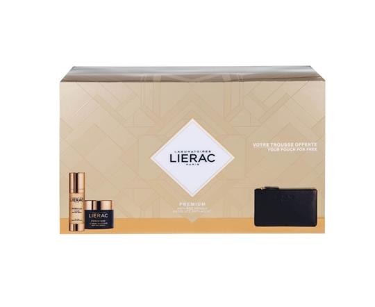 Picture of LIERAC Set Premium La Cure Anti-Age Absolu 30ml & Premium Voluptuese Cream 50ml & ΔΩΡΟ Δερμάτινο Πορτοφόλι