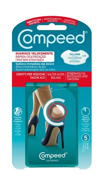 Picture of COMPEED BLISTER HIGH HEEL επιθέματα για ΦΟΥΣΚΑΛΕΣ από ΤΑΚΟΥΝΙΑ 5ΤΕΜ