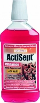 Picture of INTERMED Actisept Mouthwash Cinnamon 500ml