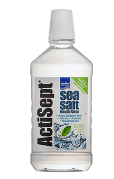 Picture of INTERMED ACTISEPT MOUTHWASH SEA SALT 500ML