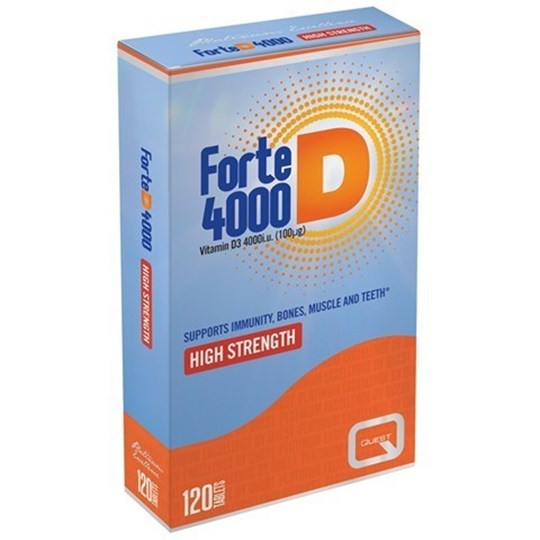 Picture of Quest FORTE D 4000 120 TABS