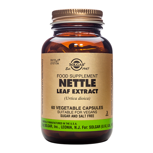 Picture of SOLGAR NETTLE LEAF EXTRACT veg.caps 60s