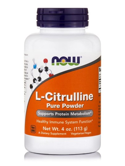Picture of NOW L-Citrulline Pure Powder 113gr