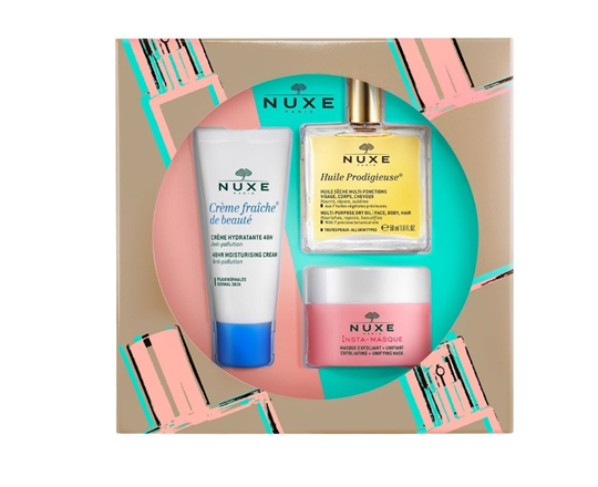 Picture of NUXE Set Cream Fraiche de Beaute 48hr Moisturising Cream 30ml + Huile Prodigieuse Ξηρό Λάδι 50ml + Insta-Masque Μάσκα για Απολέπιση και Ομοιόμορφη Όψη 50ml