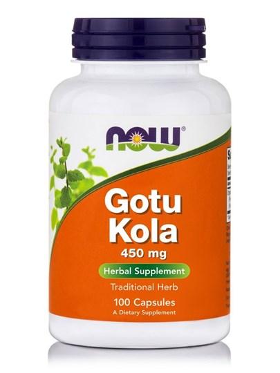 Picture of NOW Gotu Kola 450 mg 100Veg Capsules