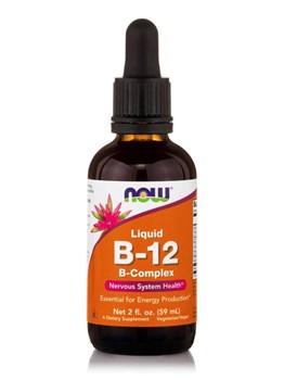 Picture of NOW  Vitamin B-12 Complex Liquid 59ml